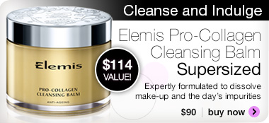 Elemis Pro-Collage Supersize Cleansing Balm now available;