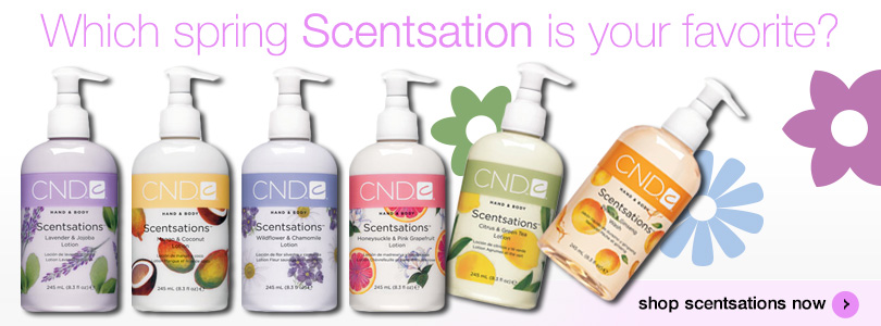Which CND Scentsation is your favorite. Shop all of them now.