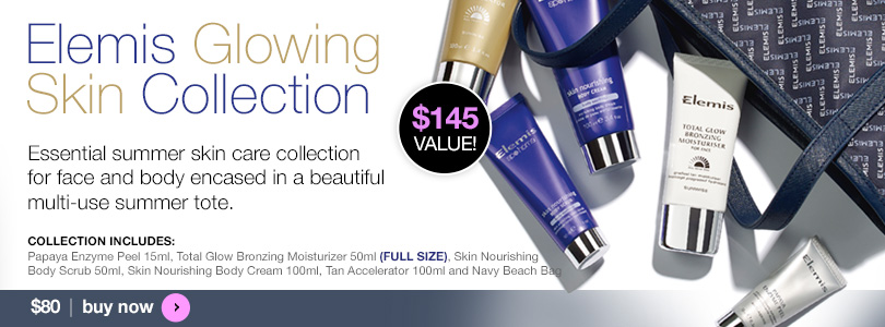Elemis Glowing Skin Collection $80 | BUY NOW