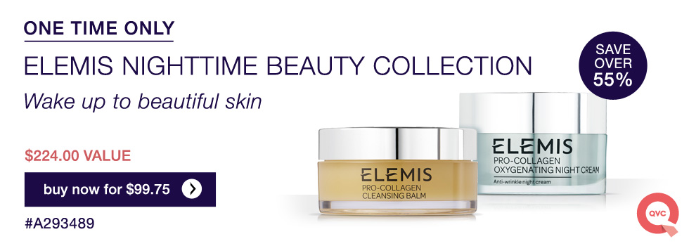 elemis brand on qvc oxygneting night cream