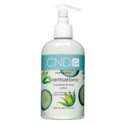 CND Scentsations Cucumber & Aloe Lotion