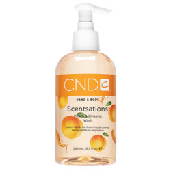 CND Scentsations Peach & Ginseng Wash