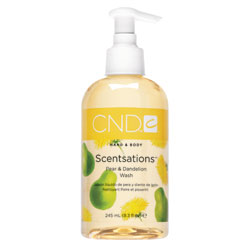 CND Scentsations Pear & Dandelion Wash