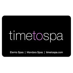 $50 timetospa Gift Card