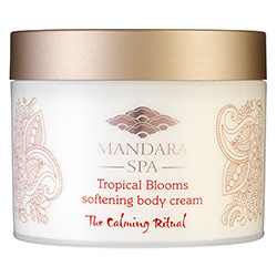 Mandara Spa Tropical Blooms Softening Body Cream