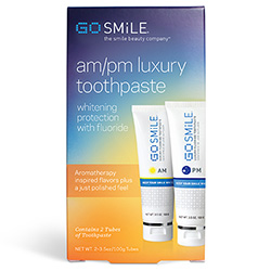 GOSMiLE AM/PM Toothpaste Duo