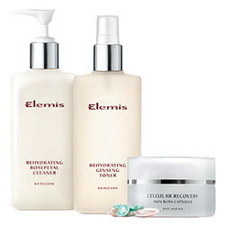 Elemis Rehydrating Skincare Essentials - for dry skin