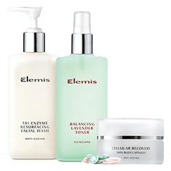 Elemis Smoothing Skincare Essentials - for uneven skin