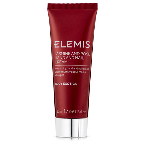 Elemis Spa At Home Jasmine & Rose Hand and Nail Cream / 20ml