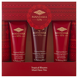 Mandara Spa Tropical Blooms Must Have Trio
