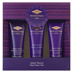 Mandara Spa Amber Heaven Must Have Trio