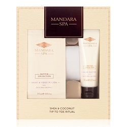 Mandara Spa Shea and Coconut Tip To Toe Ritual Collection