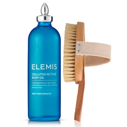 ELEMIS Spa At Home Cellutox Active Body Oil & Body Brush