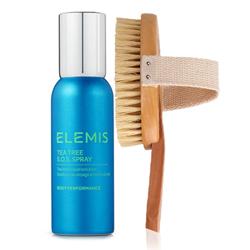 ELEMIS Spa at Home Tea Tree SOS Spray & Body Brush