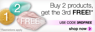 Buy 2 get the 3rd free