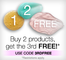 Buy two products, get your third free. Use code 3RDFREE