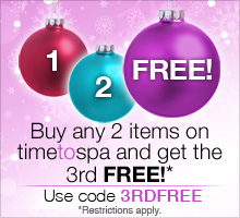 Buy two, get the third free with code 3RDFREE.