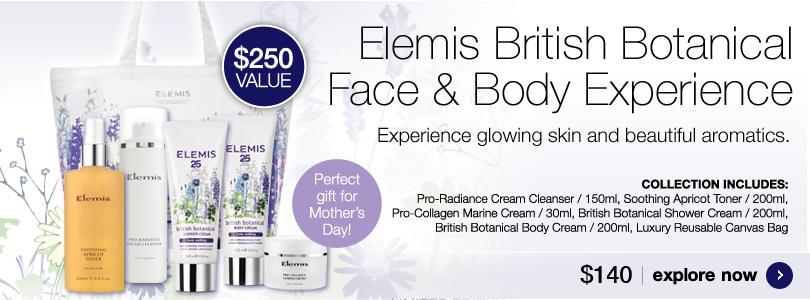 Elemis British Botanical Face and Body Experience