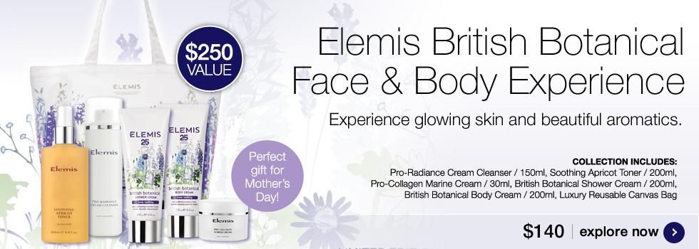 New Elemis British Botanical Face and Body Experience