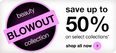 Save up to 50% on select collections