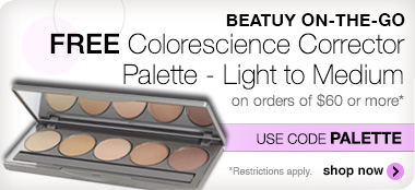 Free Colorescience Corrector Palette on orders of $60 or more