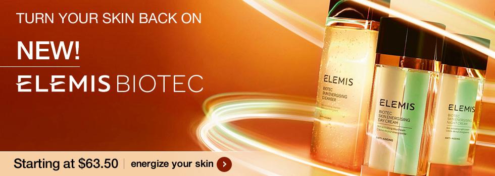 New Elemis BIOTEC
