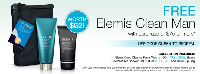 New Elemis Perfect Man $90.
