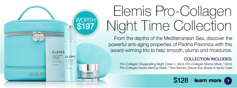 New Elemis Pro-Collagen Night Time Collection