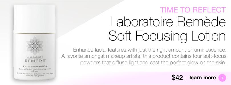 Laboratoire Remede Soft Focusing Lotion for luminouis skin