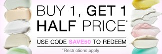timetospa Special Promotions - buy one, get one 50% off with code SAVE50