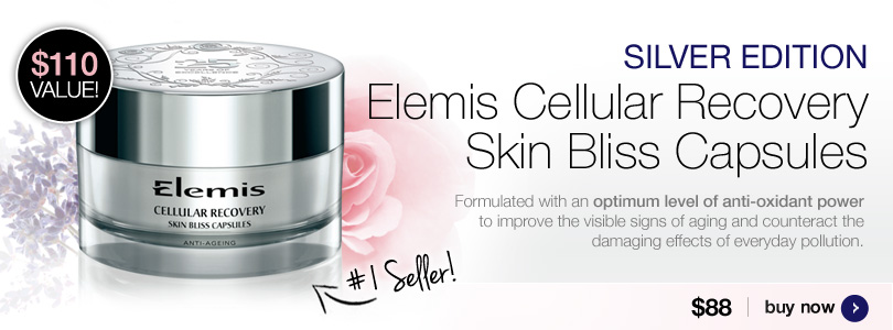 Elemis Cellular Recovery Skin Bliss Capsules - Silver Edition $88| BUY NOW