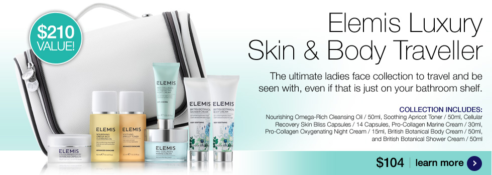 Elemis Skin and Body Travel Collection