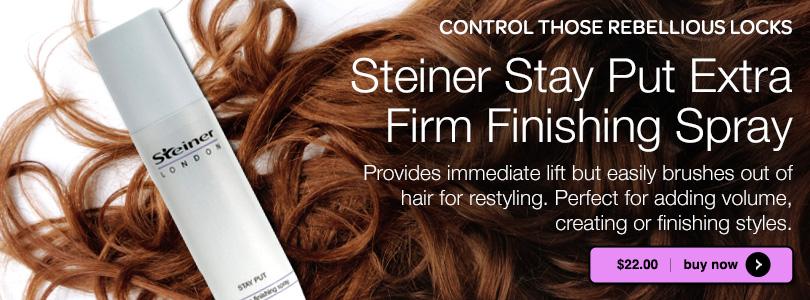 Steiner Stay Put Firm Finishing Spray