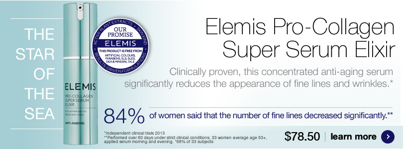New Elemis Super Serum Elixir