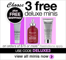 3 free minis & shipping on orders of $75 or more. Use code DELUXE3.