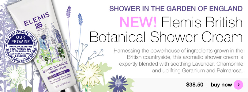 Elemis British Botanical Shower Cream $38.50