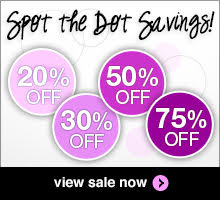 Spot the Dot Savings: Save up to 50% on select products.